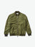 Diamond Panel Bomber Jacket - Olive