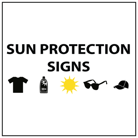 Sun Safety Signs