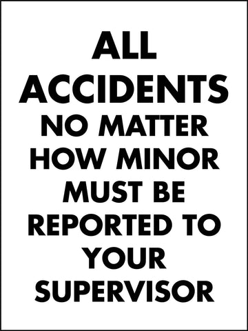 All Accidents Signs