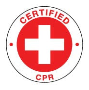 CERTIFIED CPR Hard Hat Stickers