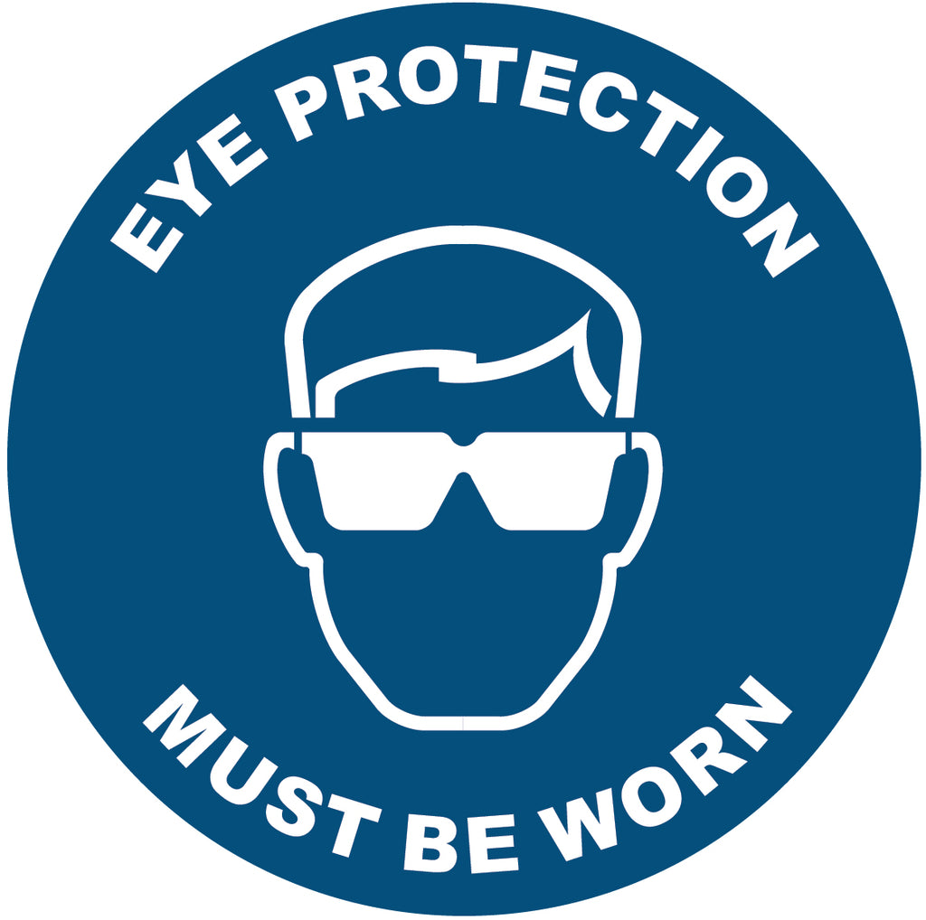 Eye Protection Decal