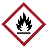 GHS Flame Pictogram - Sticker