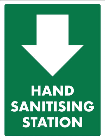 Hand Sanitising Station Sign