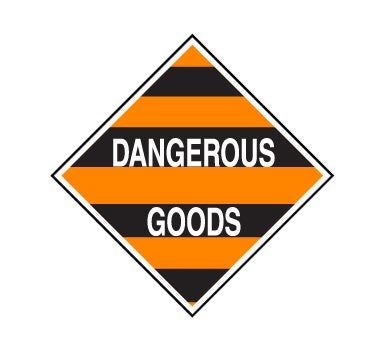 Hazchem MIXED CLASS DANGEROUS GOODS - Sticker