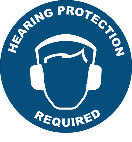 Hearing Protection Required Decal