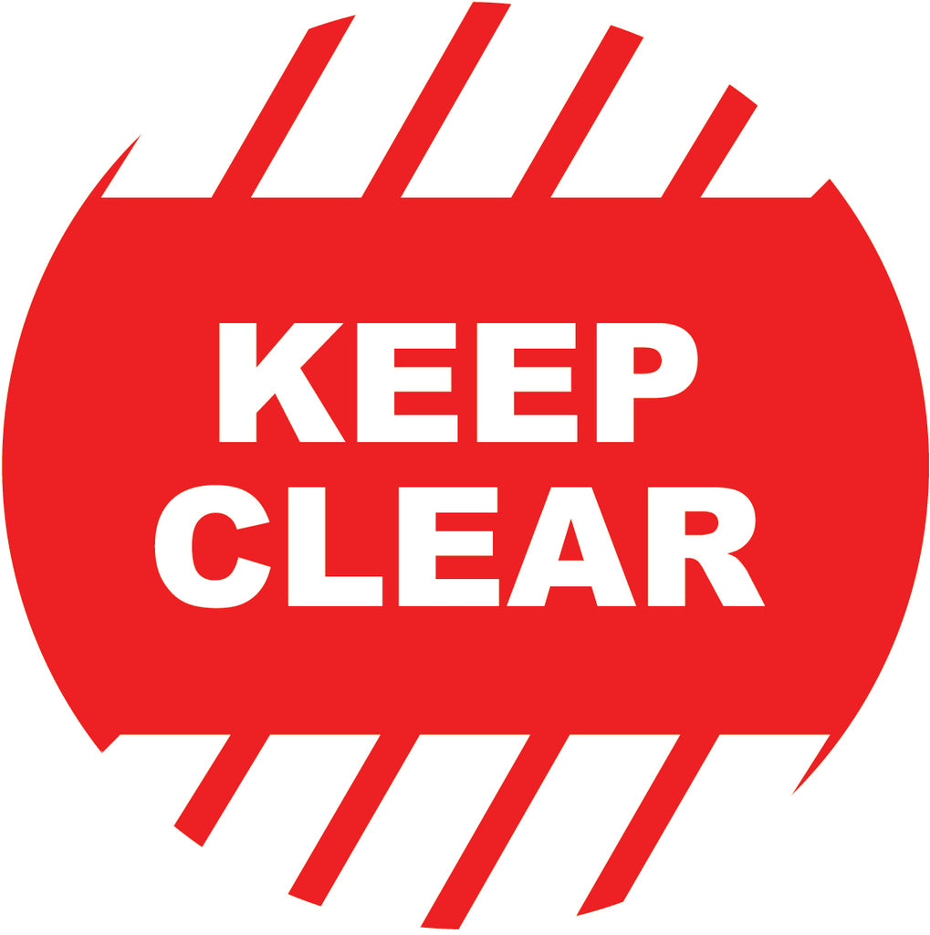 Keep Clear Decal