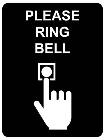 Please Ring Bell Sign