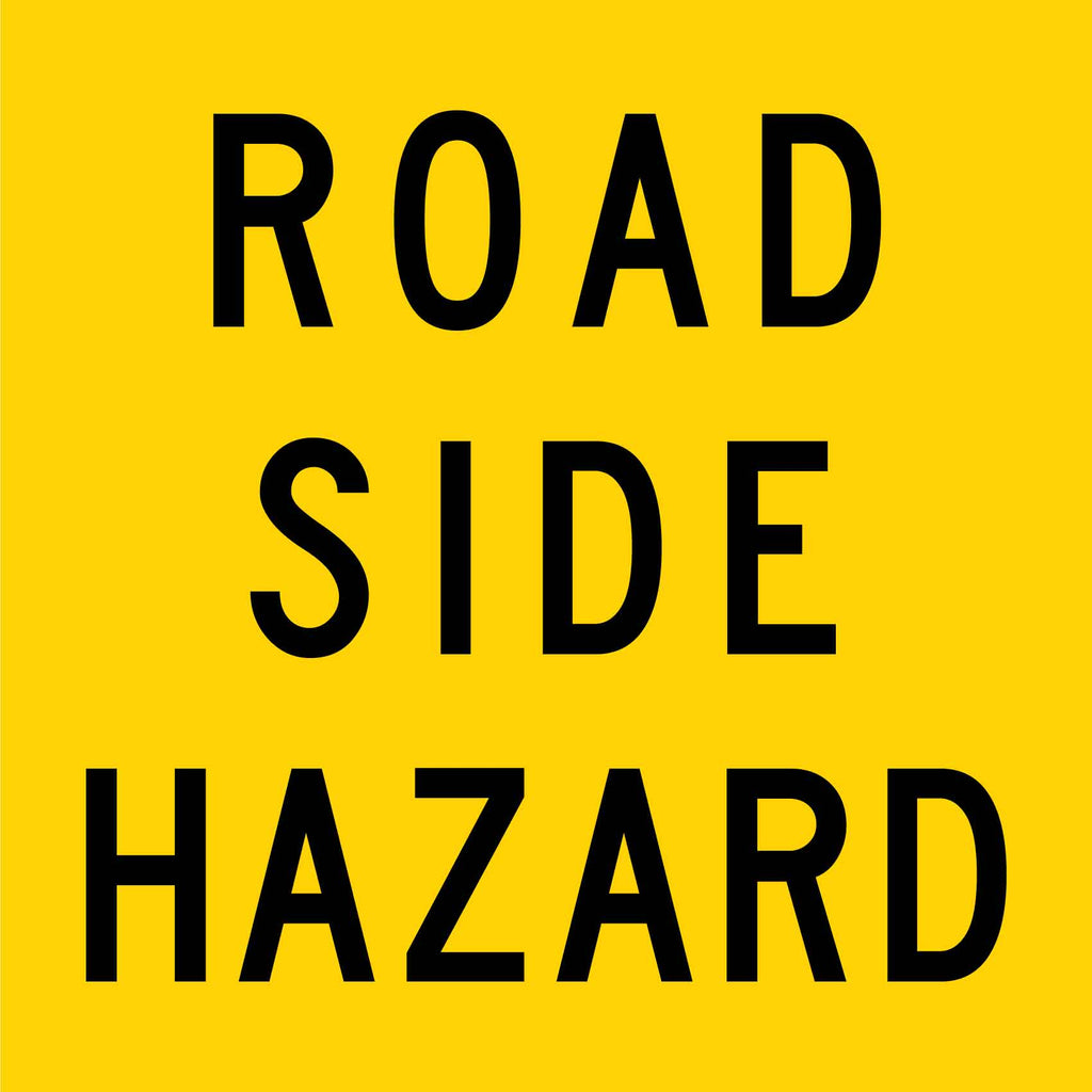 Road Side Hazard Multi Message Reflective Traffic Sign