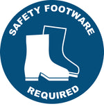 Safety Footwear Required Decal