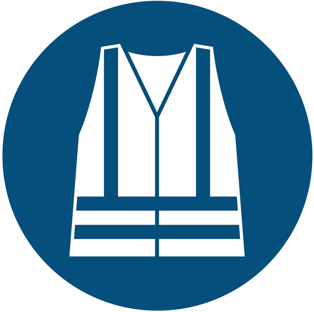 Safety Vest Symbol Decal