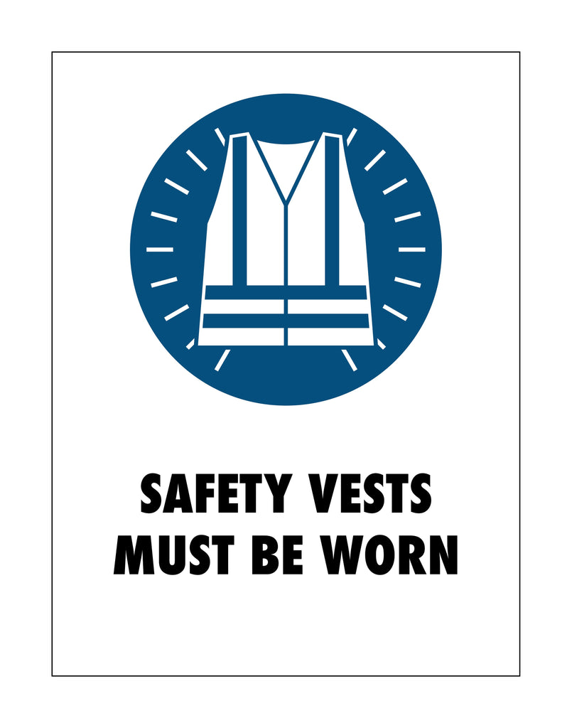 Safety Vests Sign