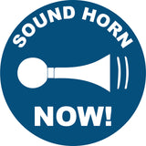 Sound Horn Now Decal