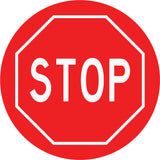 Stop Red Decal
