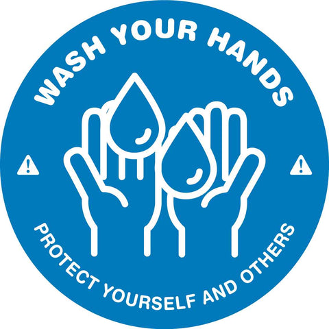 Wash Your Hands Protect Yourself and Others Decal