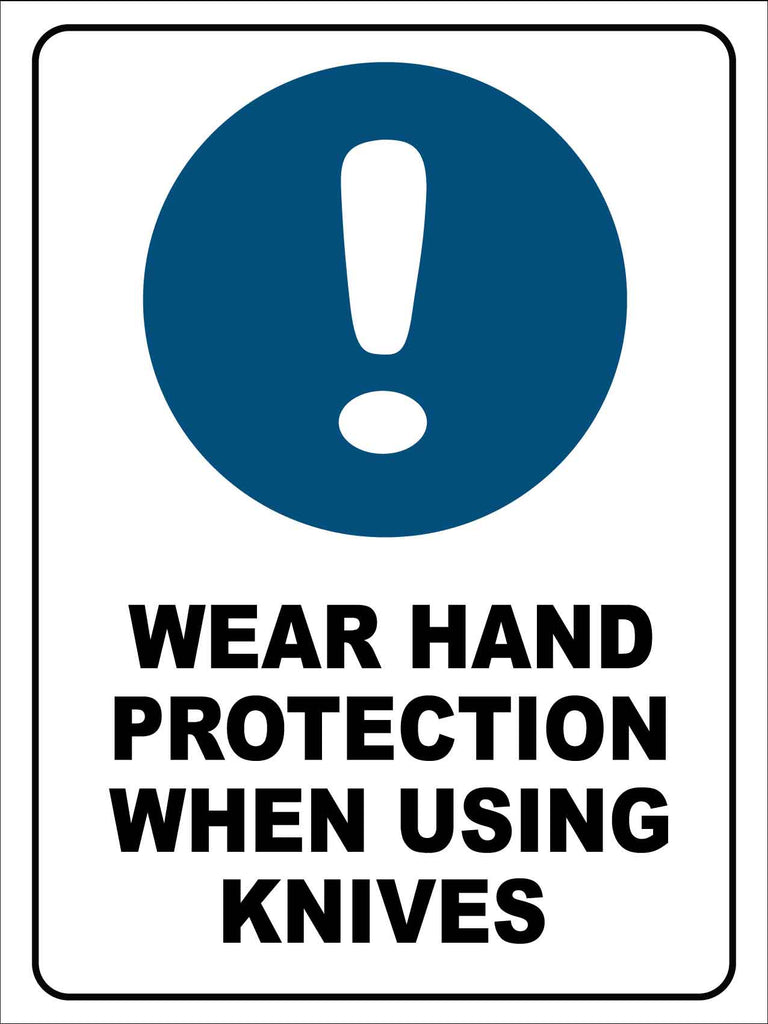 Wear Hand Protection Sign