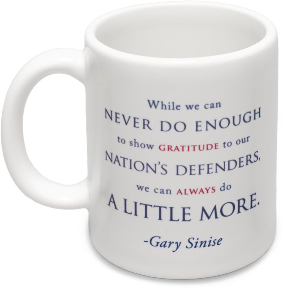 """Always Do A Little More"" Ceramic Coffee Mug"