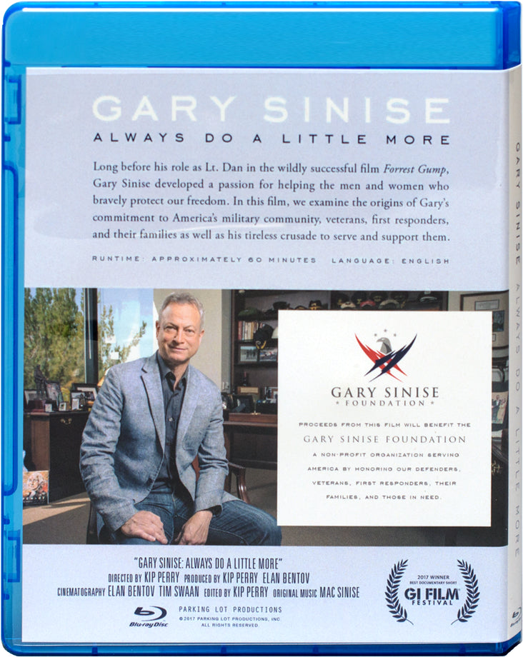 """Gary Sinise: Always Do A Little More"" Documentary"