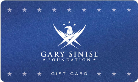 Gary Sinise Foundation Gift Card