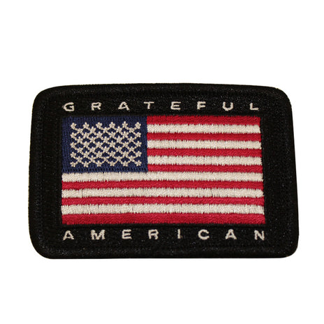 """Grateful American"" Patch"