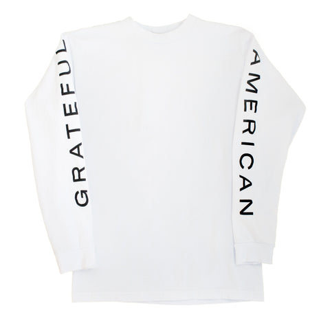 """Grateful American"" Long Sleeve Tee"