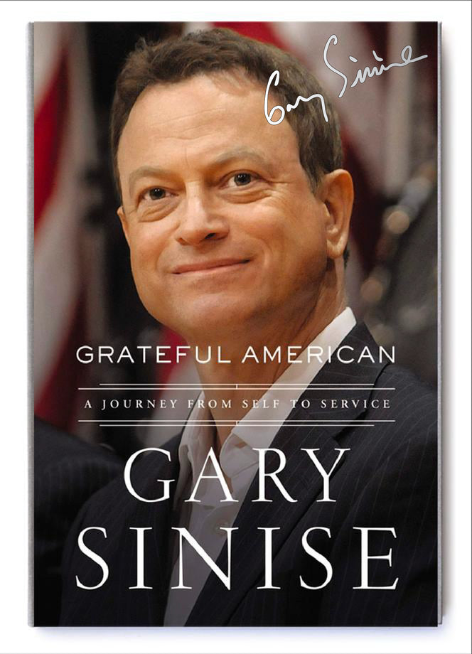 "Signed ""Grateful American"" Book"