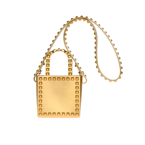 Alice Metallic Mini Jelly Shoulder Bag