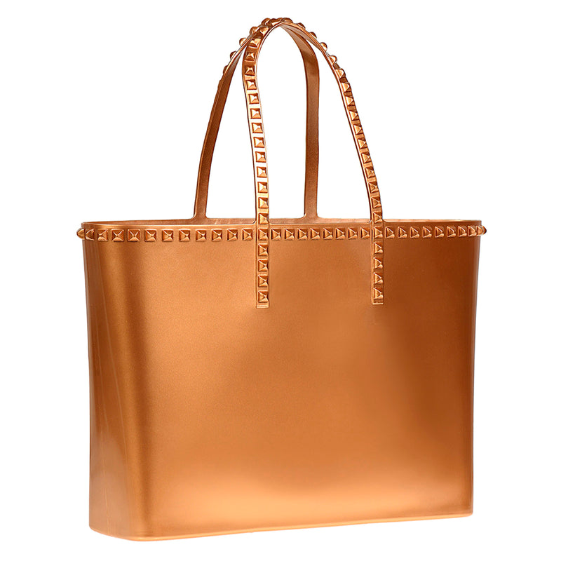 Angelica Large Tote - Metallic Jelly