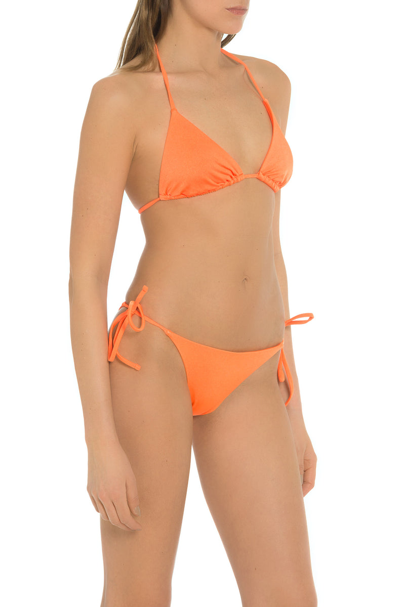 Shop Carmen Sol Metallic Swimwear Bikini Made in Italy