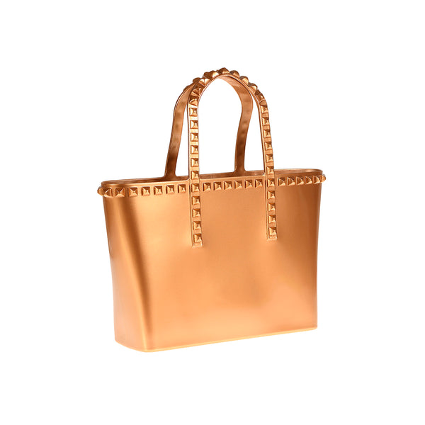 Grazia Mini Tote - Metallic Jelly