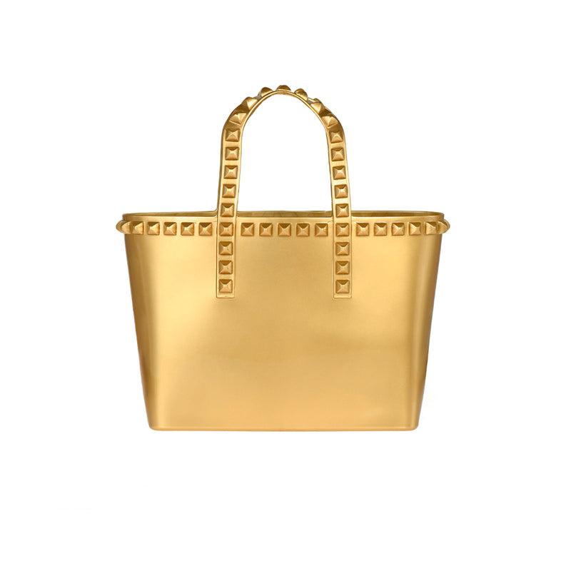 Miriam Micro-Mini Tote - Metallic Jelly