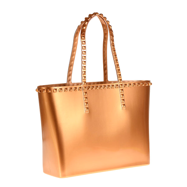 Seba Medium Tote - Metallic Jelly
