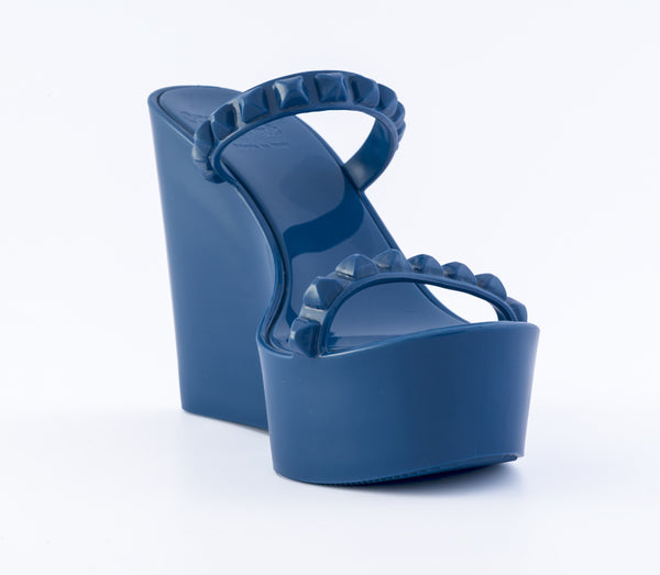 Tonino Wedge - Clearance Colors dark blue
