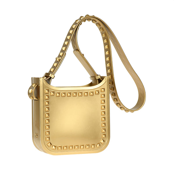 Lisa Metallic Jelly Small Crossbody