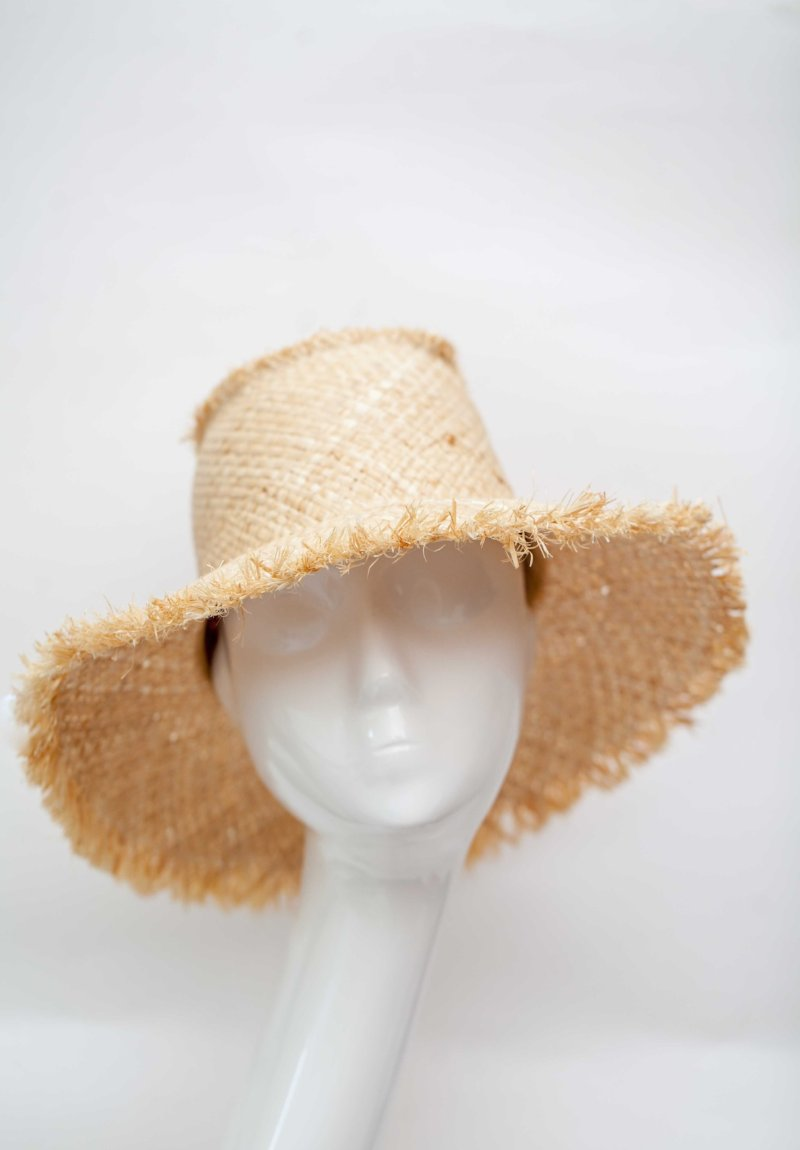 sun add straw hat made in italy