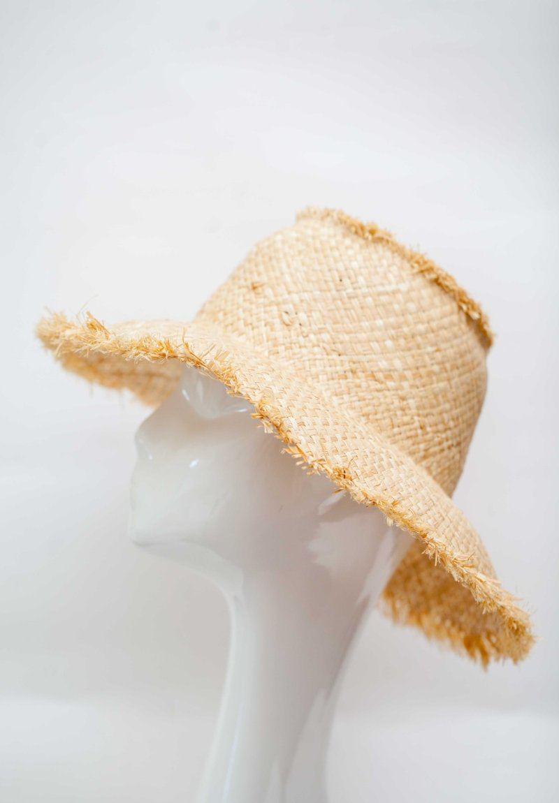 straw hat made in italy