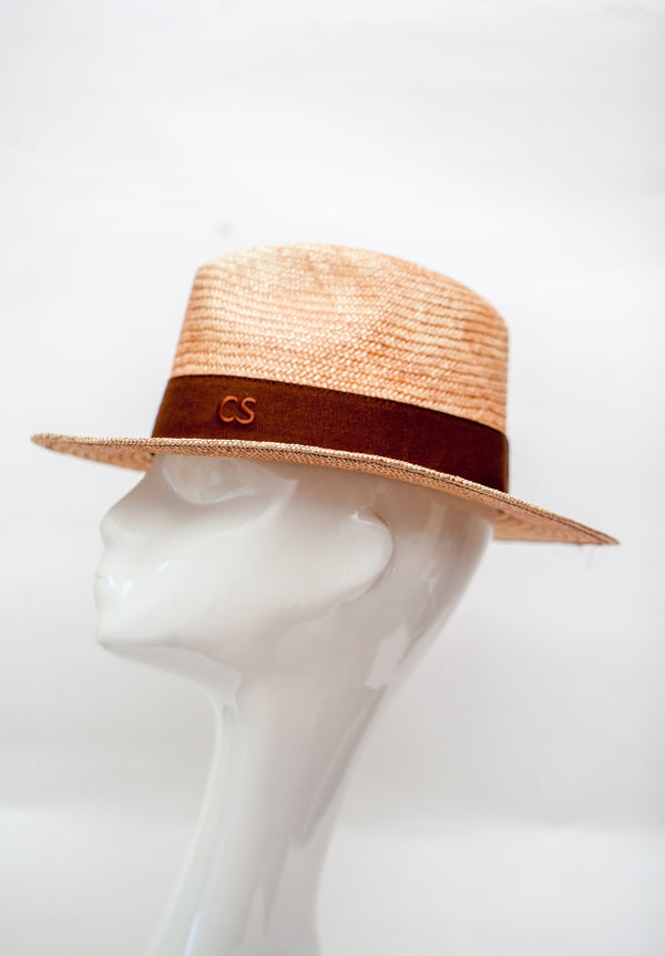 straw fedora hat lightweight made in italy