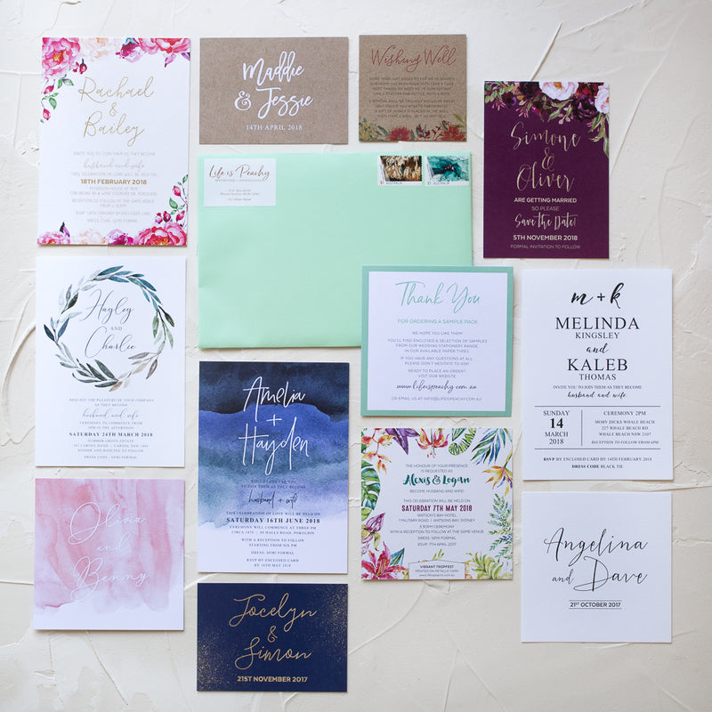 Things to consider when choosing invitations
