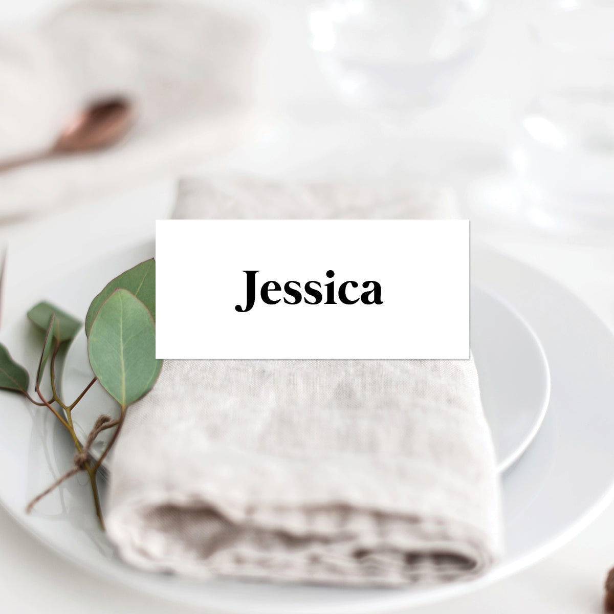 Always Together Placecard