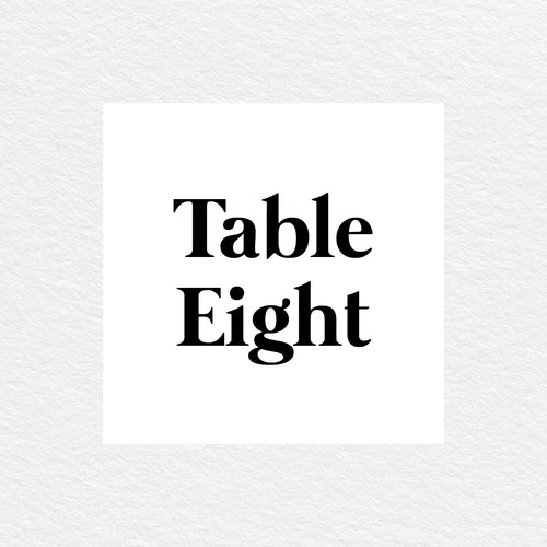Always Together Table Numbers