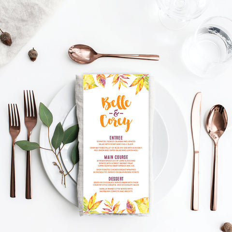 Sweet Type Placecard