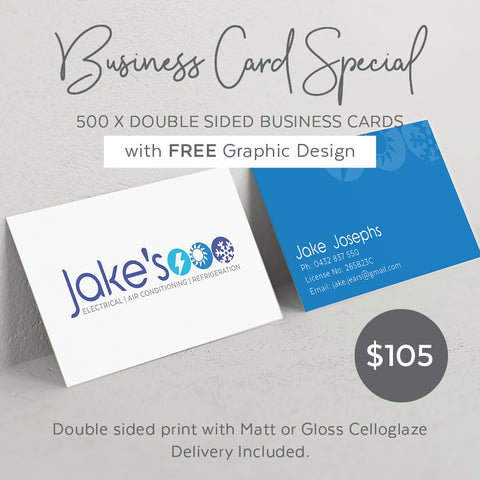 Flyer + Business Card Design Combo