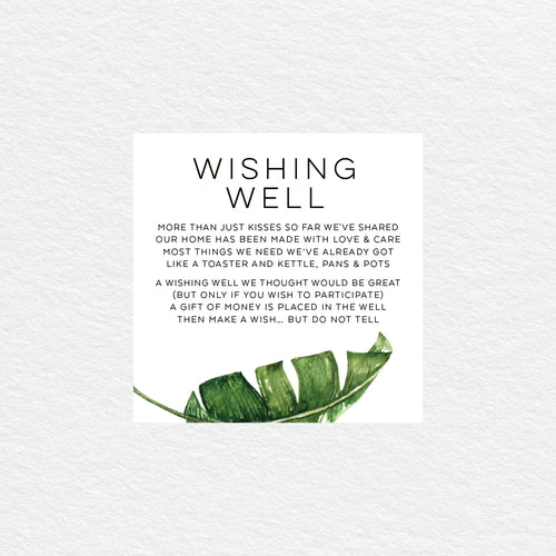 Beverly Hills Wishing Well Card