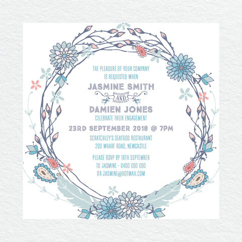 Spring Sweetness Engagement Invitation