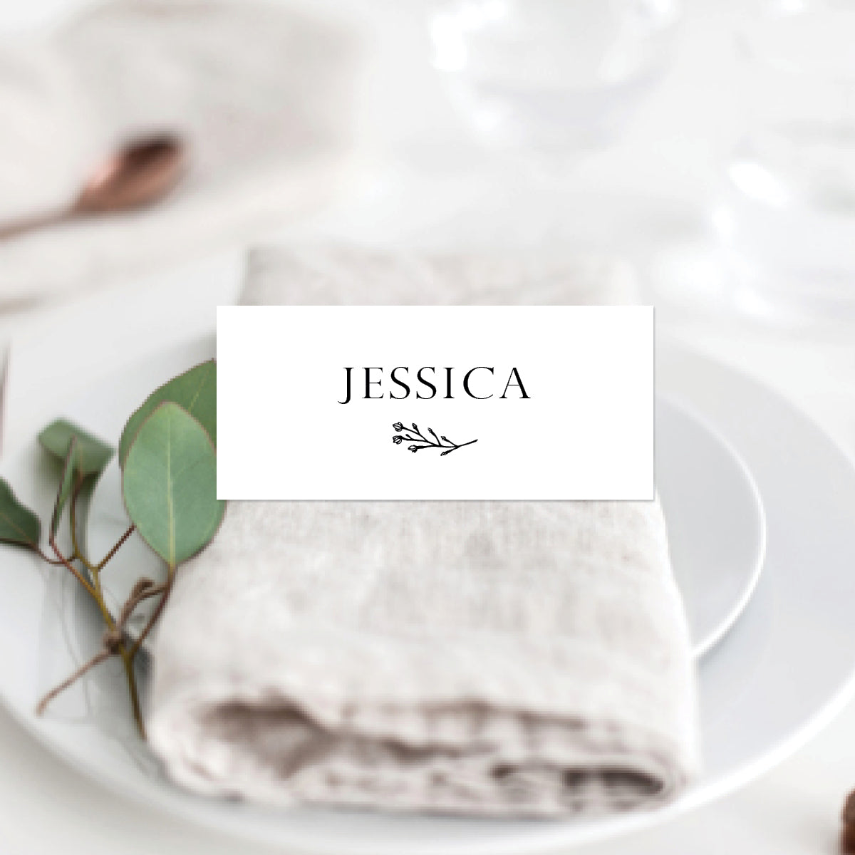 Branch of Love Placecard