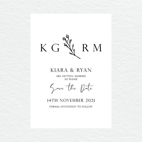 Branch of Love Save the Date Card