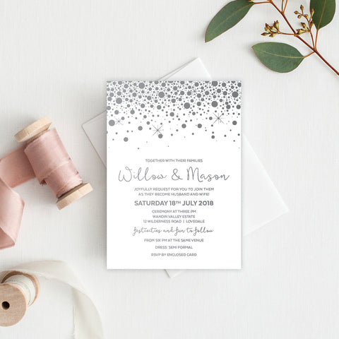Confetti Party Service Covers