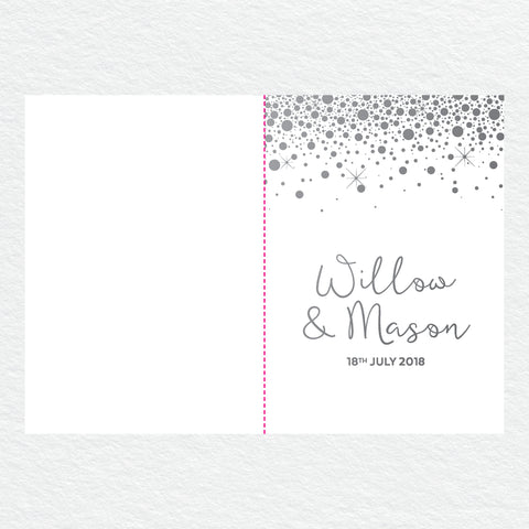 Confetti Party Thankyou Cards