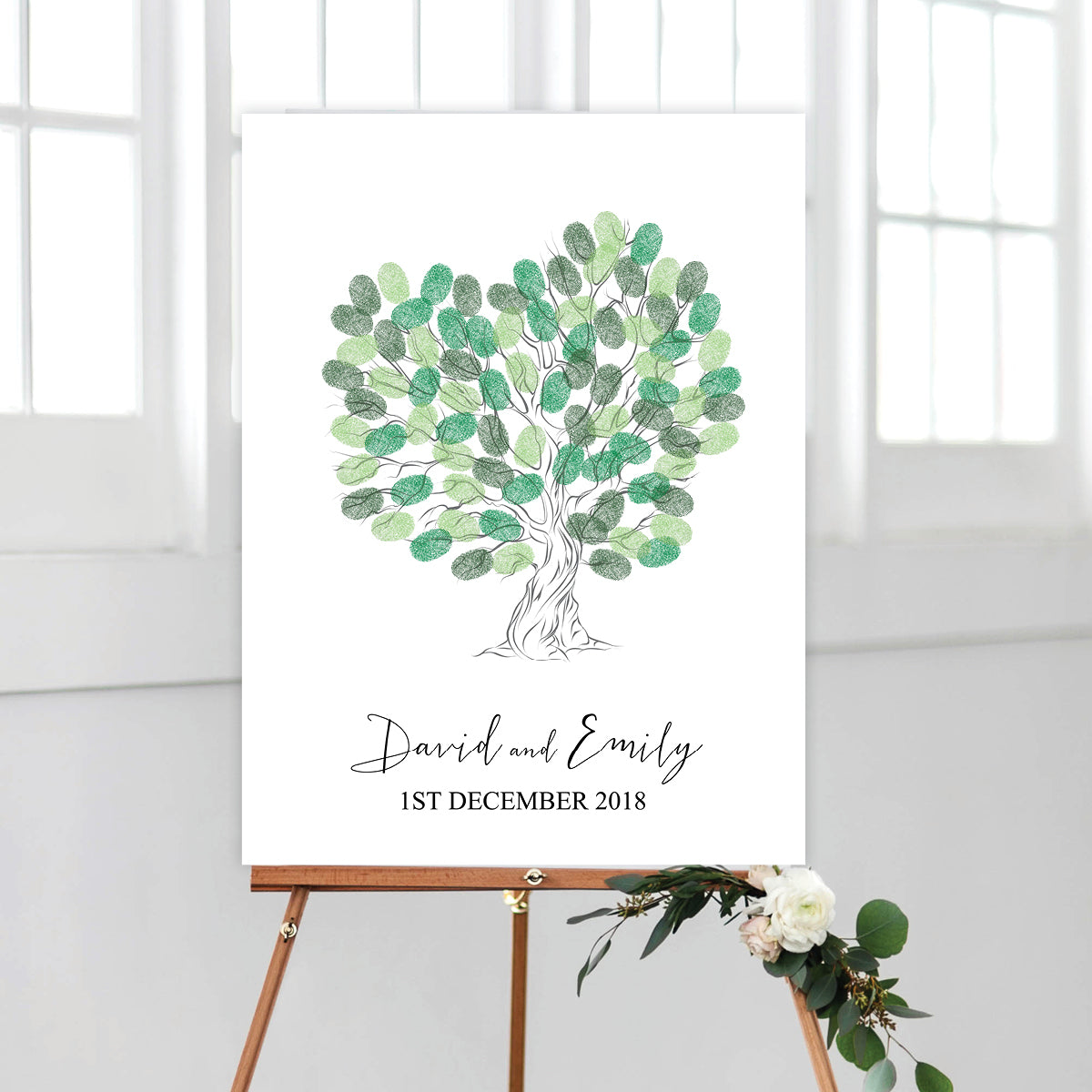 Heart Fingerprint Tree Kit