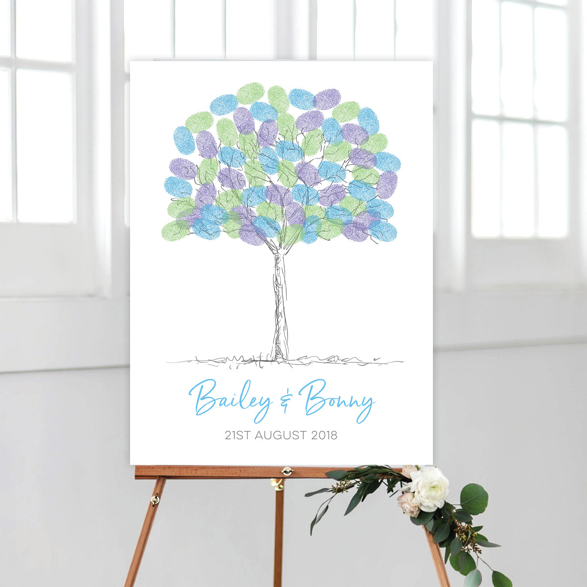 Sketchy Fingerprint Tree Kit