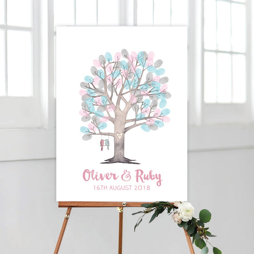 Watercolour Fingerprint Tree Kit